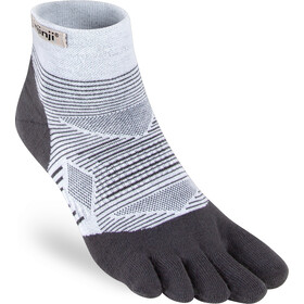 Injinji Run Lightweight Mini Crew Socks Men, gray